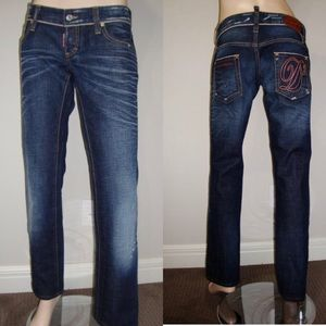 Dsquared2 Dean & Dan 02 straight Jeans 44